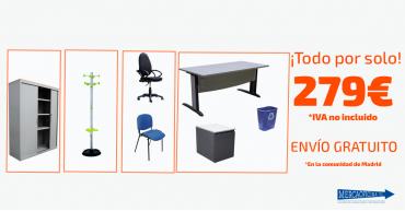 Oferta en mobiliario de oficina