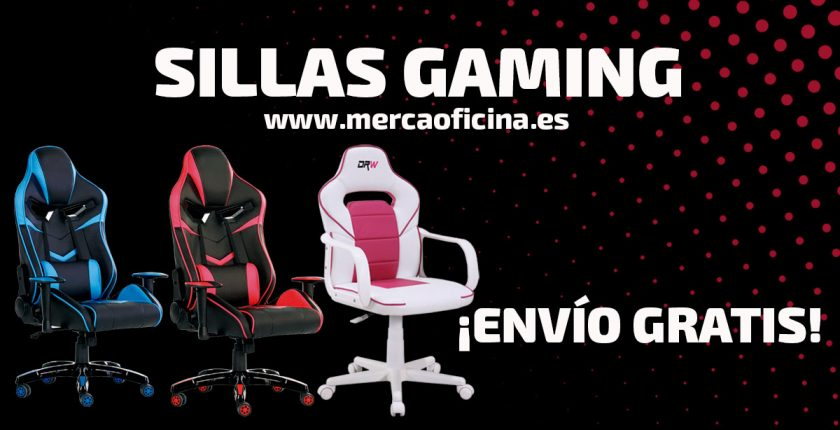 Sillas gaming baratas en Mercaoficina