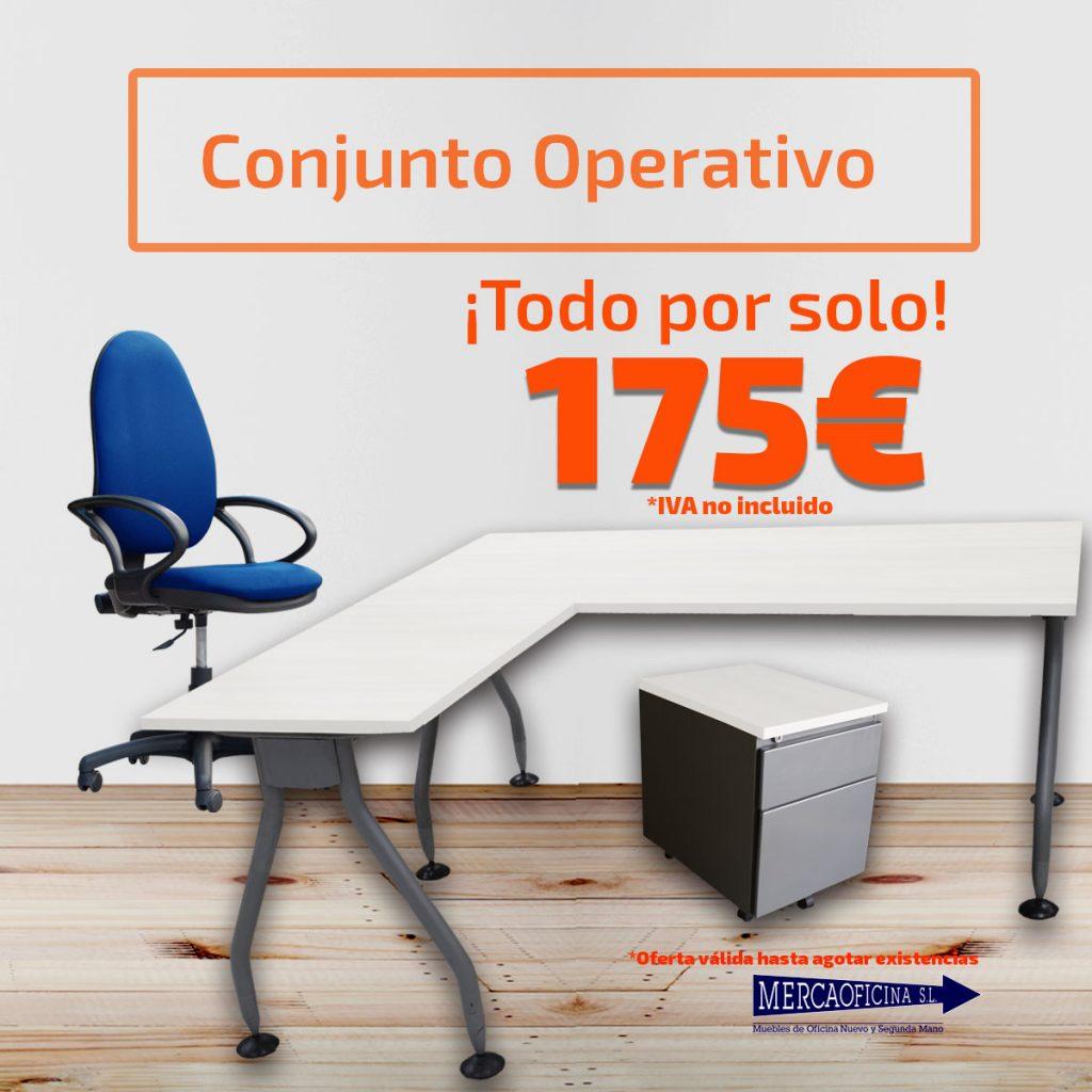 Muebles de oficina nuevos y de segunda mano