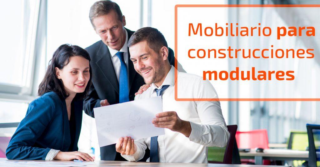 Mercaoficina ofrece soluciones integrales en mobiliario de oficina para construcciones modulares.