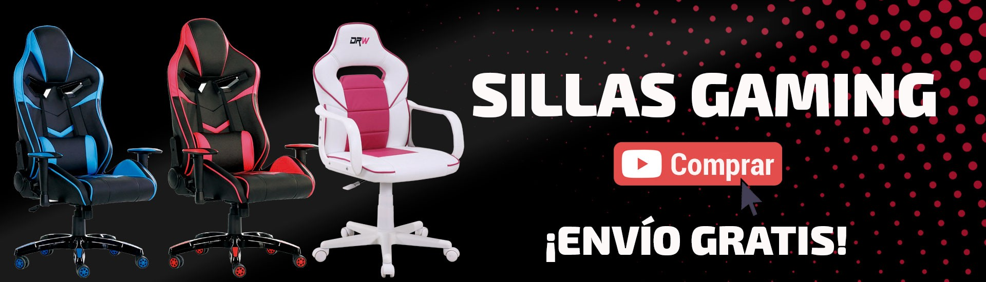 Sillas gaming Mercaoficina